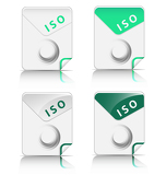 Fotografie ISO file type icon