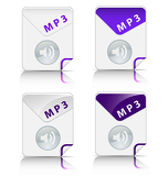 MP3 file type icon