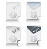 NFO file type icon