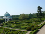 Flower Garden in Kromeriz