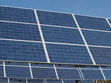 Fotografia array of photovoltaic panels