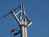 pole power lines