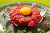 Fotografie steak tartare