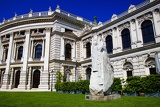 Burgtheater theater, opera, game show. City of Vienna - Austria.