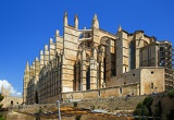 Fotografie Cathedral. City of Palma de Mallorca. Island of Mallorca - Spain.