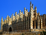 Cathedral. City of Palma de Mallorca. Island of Mallorca - Spain.