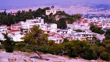 Photo City of Athens, the Areopagus. Greece.