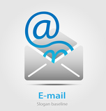 Photo Email business icon