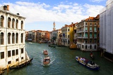 Photo City of Venice. Grand Canal. Italy.