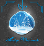 elegant christmas decorative background