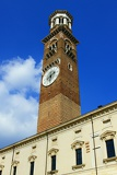 Fotografia City of Verona, and Town Hall Square. Northern Italy.