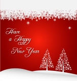 Photo new year holiday background