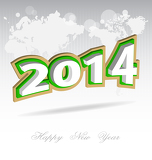 Fotografie new year 2014 background
