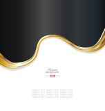 Fotografia abstract gold metallic background