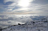 Inversion (view from High Tatras mountains, Slovakia)