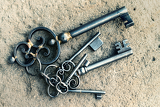 ancient keys from the castle