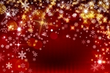 background of snowflake and stars