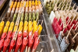 many ice lollies different flavors