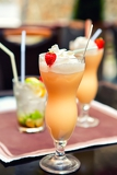summer refreshing fruity alcoholic beverage