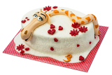 Fotografia birthday cake with giraffe motif