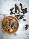 Fotografie the healthy honest homemade bean soup