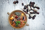 the healthy honest homemade bean soup