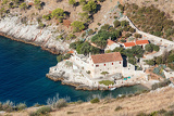 Fotografie small resort with a small cove on the island of hvar