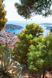 Fényképek coastal view of the island of hvar croatia