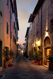 san quirico dorcia an ancient town in the italian tuscany