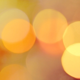 abstract background of christmas orange lights