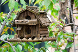 Photo beauty handmade creative bird box