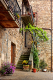 Fotografie beautiful picturesque nook of rural tuscany