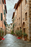 Fotografie montalcino  picturesque nook of tuscany
