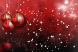 Fotografie christmas ball on abstract background
