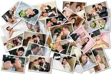 Fényképek wedding theme collage composed of different images
