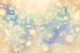 Fotografie abstract winter background  christmas abstract bokeh