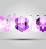 purple geometric abstract background for creative design work