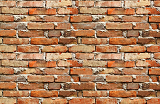 Photo high resolution red brick wall for background use background