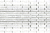 Fotografie white brick wall texture for background use