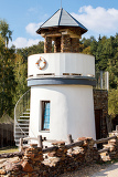 small lighthouse for childs play in park