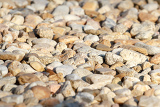 pebbles with shallow focus for background use