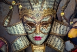 right hand made venetian mask