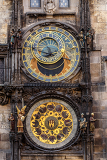 Fotografia the prague astronomical clock or prague orloj is a medieval astronomical clock czech republic 2014