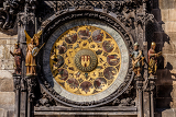 Fotografie the prague astronomical clock or prague orloj is a medieval astronomical clock czech republic 2014