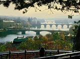 Photo view of prague kmosty