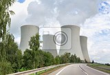 nuclear power plant temelin in the czech republic in europe