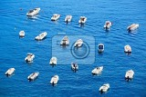 Photo lots of boats in scilla port cal