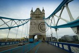 Tower Bridge. Bridge, people and the river Thames. London - England.. Most people and the river Thames. London - England.