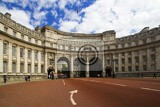 City. Triumphal Arch Admiralty Arch London. London - England.