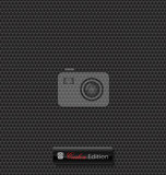 Fotografia delicate carbon fibre vector background for creative design